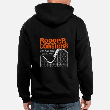Love Roller Coaster - Men's Zip Hoodie