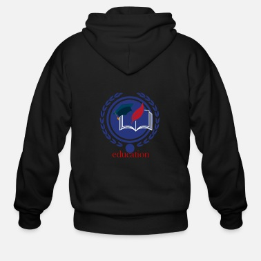 Education Culture Education - Men's Zip Hoodie
