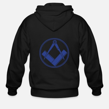 Fun freemasonry - Men's Zip Hoodie