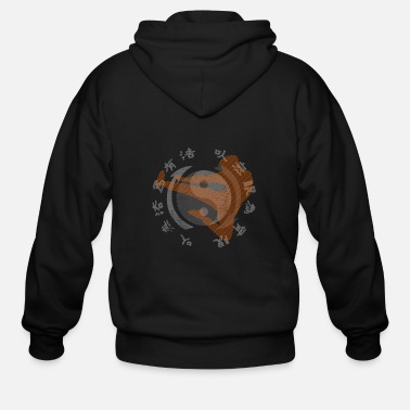 Martial Arts Jeet Kune Do Kung Fu - Men's Zip Hoodie