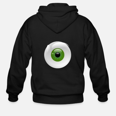 Eyeball Eyeball - Men's Zip Hoodie