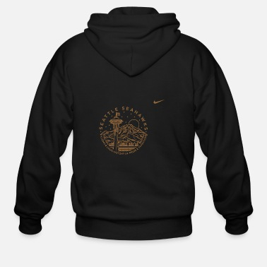 Seattle seattle - Men's Zip Hoodie
