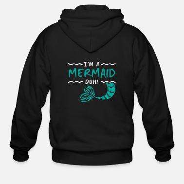 Creature Mermaid - Men's Zip Hoodie