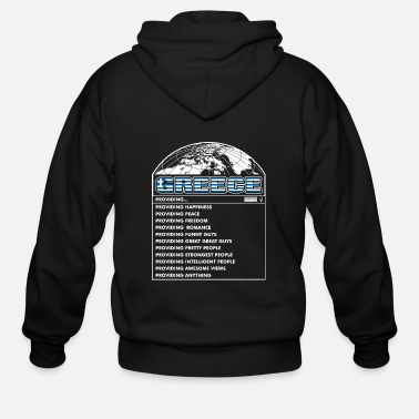 Greece Greece Funny Guys - Men's Zip Hoodie