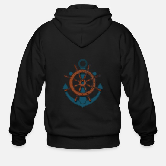 Anchor Hoodies & Sweatshirts - Anchor - Men's Zip Hoodie black