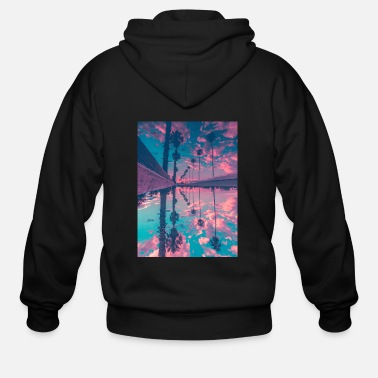 Palm Trees Palm trees - Men's Zip Hoodie