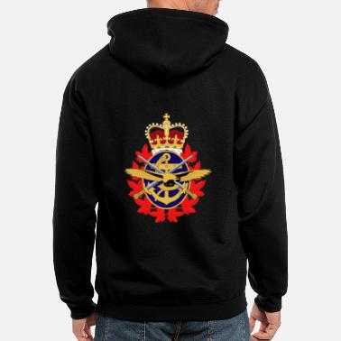 Canadian Military Canadian Military Coat of Arms - Men's Zip Hoodie