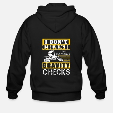 Dirt Bike Dirt Bike Shirt - Men's Zip Hoodie