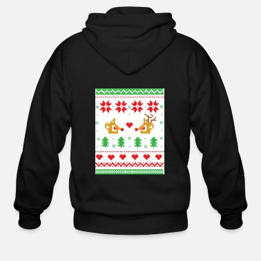 Ugly Christmas Christmas Ugly - Men's Zip Hoodie