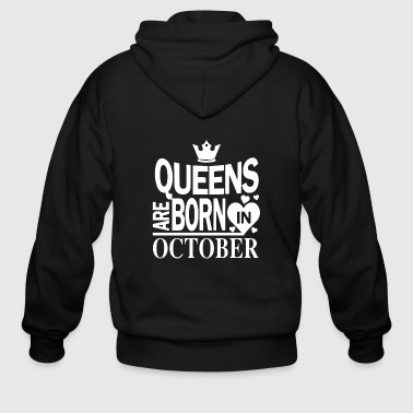 Queens Birthday October gift - Men's Zip Hoodie
