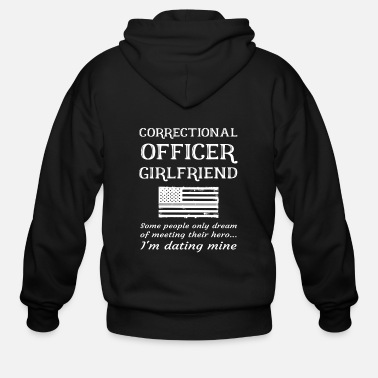 Prison Proud Correctional Officer Girlfriend Correction - Men's Zip Hoodie
