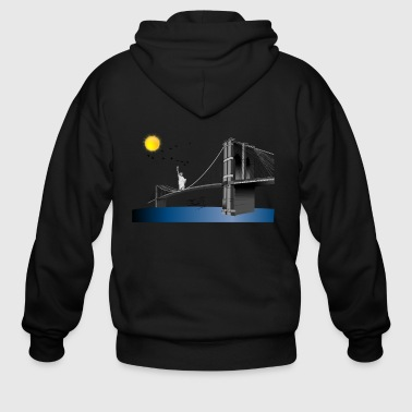 Bridge New York - Men's Zip Hoodie