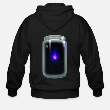 Blue Light - Men's Zip Hoodie