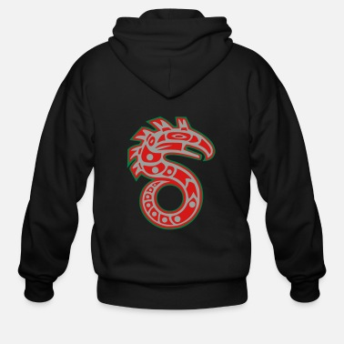 Tribal S RUN S - Men's Zip Hoodie