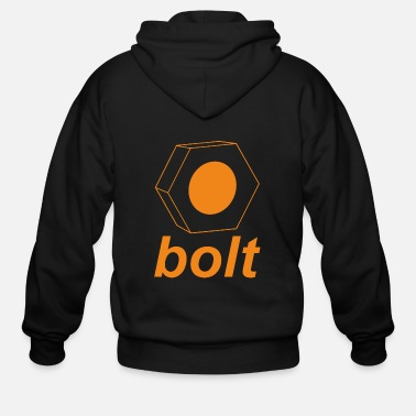 Vehicle vehicle bolt - Men's Zip Hoodie