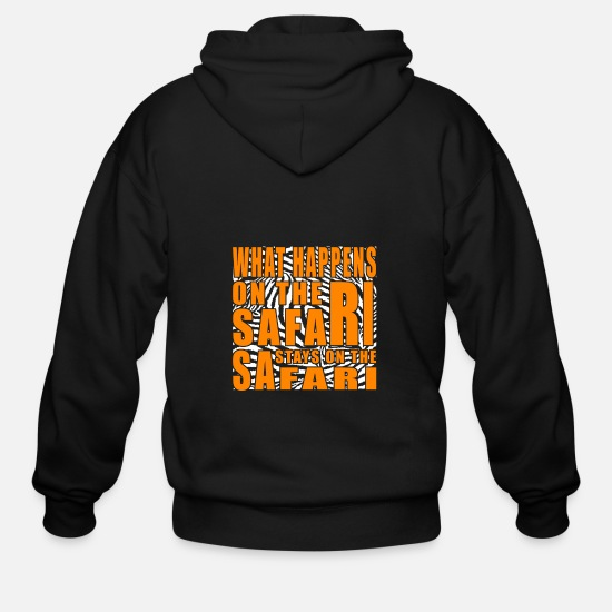 Easter Hoodies & Sweatshirts - Safari - Men's Zip Hoodie black