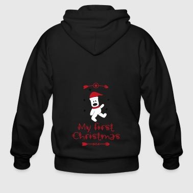 First first Christmas - Men's Zip Hoodie