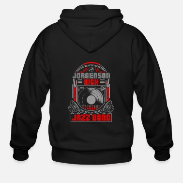 Band Jorgenson High Jazz Band - Men's Zip Hoodie