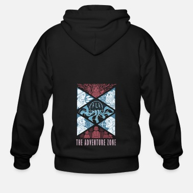 Killian The Adventure Zone - Men's Zip Hoodie