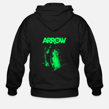 Arrow arrow - Men's Zip Hoodie