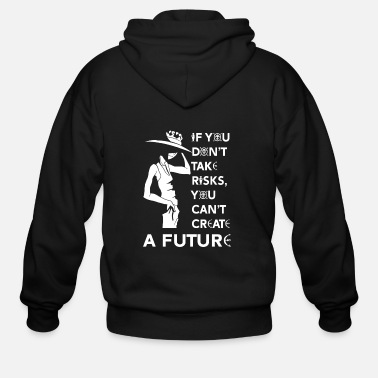 Piece One piece - You can't create a future - Men's Zip Hoodie
