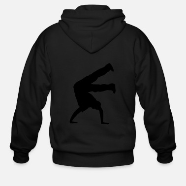 Breakdance Breakedancing Breakdancer Hip-Hop - Men's Zip Hoodie