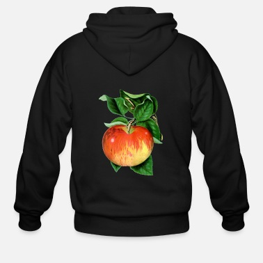 Wealthy Apple wealthy - Men's Zip Hoodie