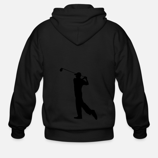 Golf Hoodies & Sweatshirts - Golf - Golf clubs - Men's Zip Hoodie black