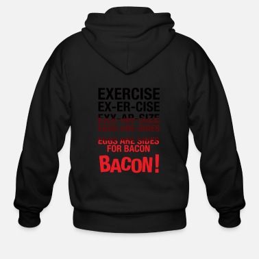 Bacon BACON - BACON - Men's Zip Hoodie