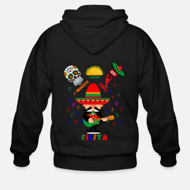 Fiesta Fiesta Cinco de Mayo Mexican Party tshirt Design - Men's Zip Hoodie