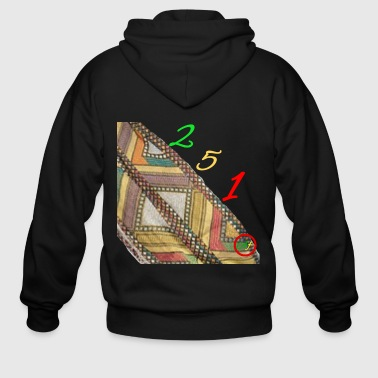 Area Code Ethiopian Area code - Men's Zip Hoodie