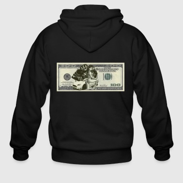 Dollar Bill - Men's Zip Hoodie