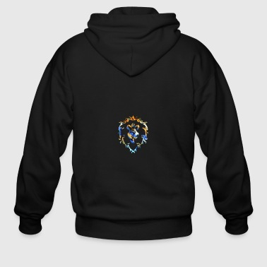 Alliance For The Alliance! - Men's Zip Hoodie