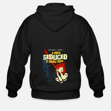 Seduce Seduced by the Dark Side - Men's Zip Hoodie