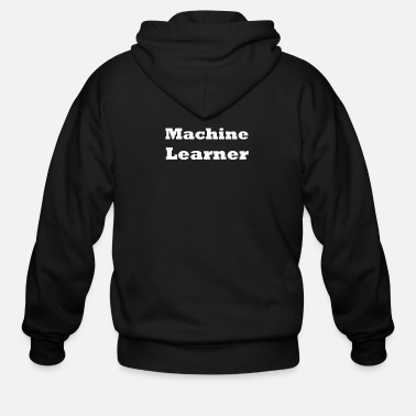 Machine Machine Learner - Men's Zip Hoodie