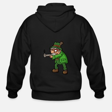 Wild Hunting Hunter Hunt - Men's Zip Hoodie
