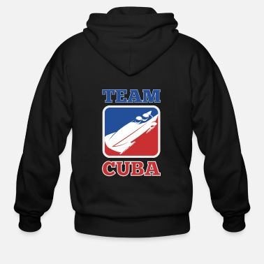 Cool Runnings bobsleigh team cuba Cool Runnings - Men's Zip Hoodie