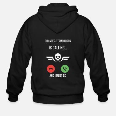 Strike CS:GO Counter Strike Gaming Gift E-Sport Hobby - Men's Zip Hoodie