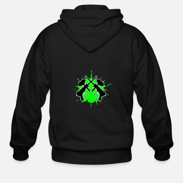 Paintball - Men's Zip Hoodie
