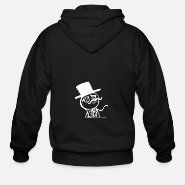 Like A Sir Like A Sir - Men's Zip Hoodie