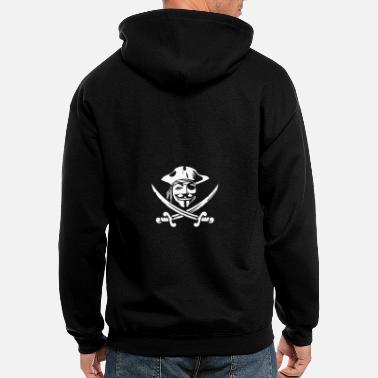 Pirate pirate - Men's Zip Hoodie