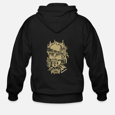 Machine Machine - Men's Zip Hoodie