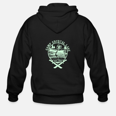 Camp Camp Crystal Lake - Men's Zip Hoodie