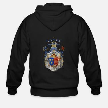 Of Arms French Coat of Arms France Symbol - Men's Zip Hoodie