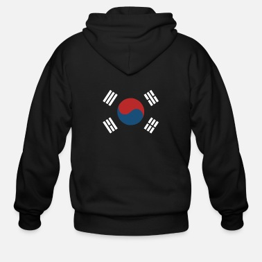 South Korea International Baseball - Men's Zip Hoodie