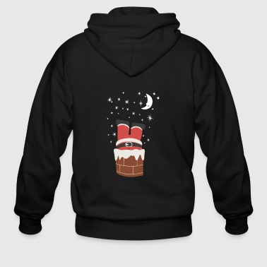 Christmas Chimney - Men's Zip Hoodie