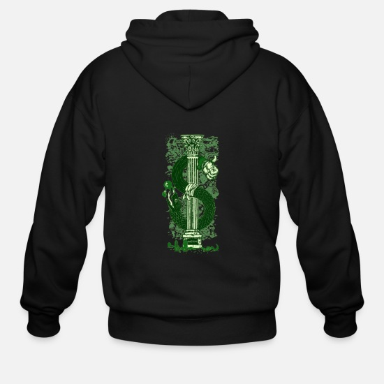 Game Hoodies & Sweatshirts - Dollar - Men's Zip Hoodie black