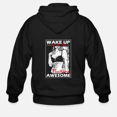 Awesome be awesome - Men's Zip Hoodie