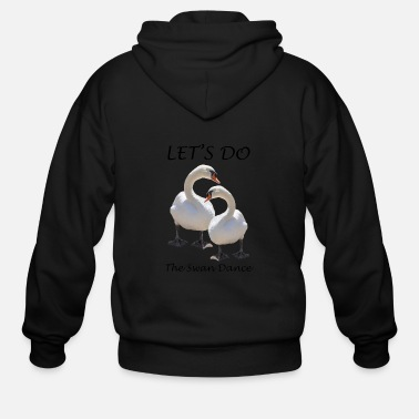 Swan Lake Swan Dance Swan Lake - Men's Zip Hoodie