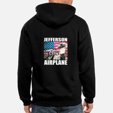 Jefferson jefferson airplane - Men's Zip Hoodie
